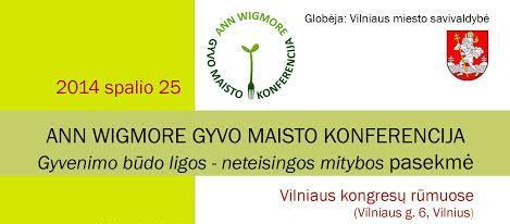 Tarptautinė Ann Wigmore gyvo maisto konferencija
