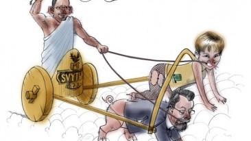 Socialdemokratai ir konservatoriai su bendrais griauna valstybę iš vidaus