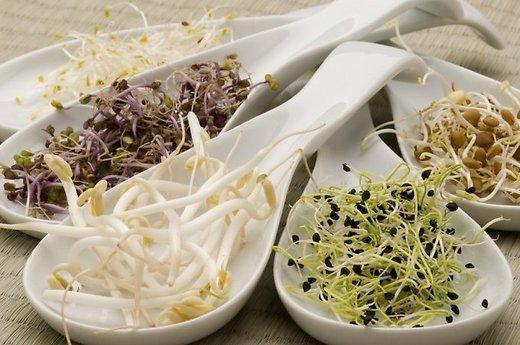 Kuo sveikatai naudingi daiginti grūdai ir sėklos