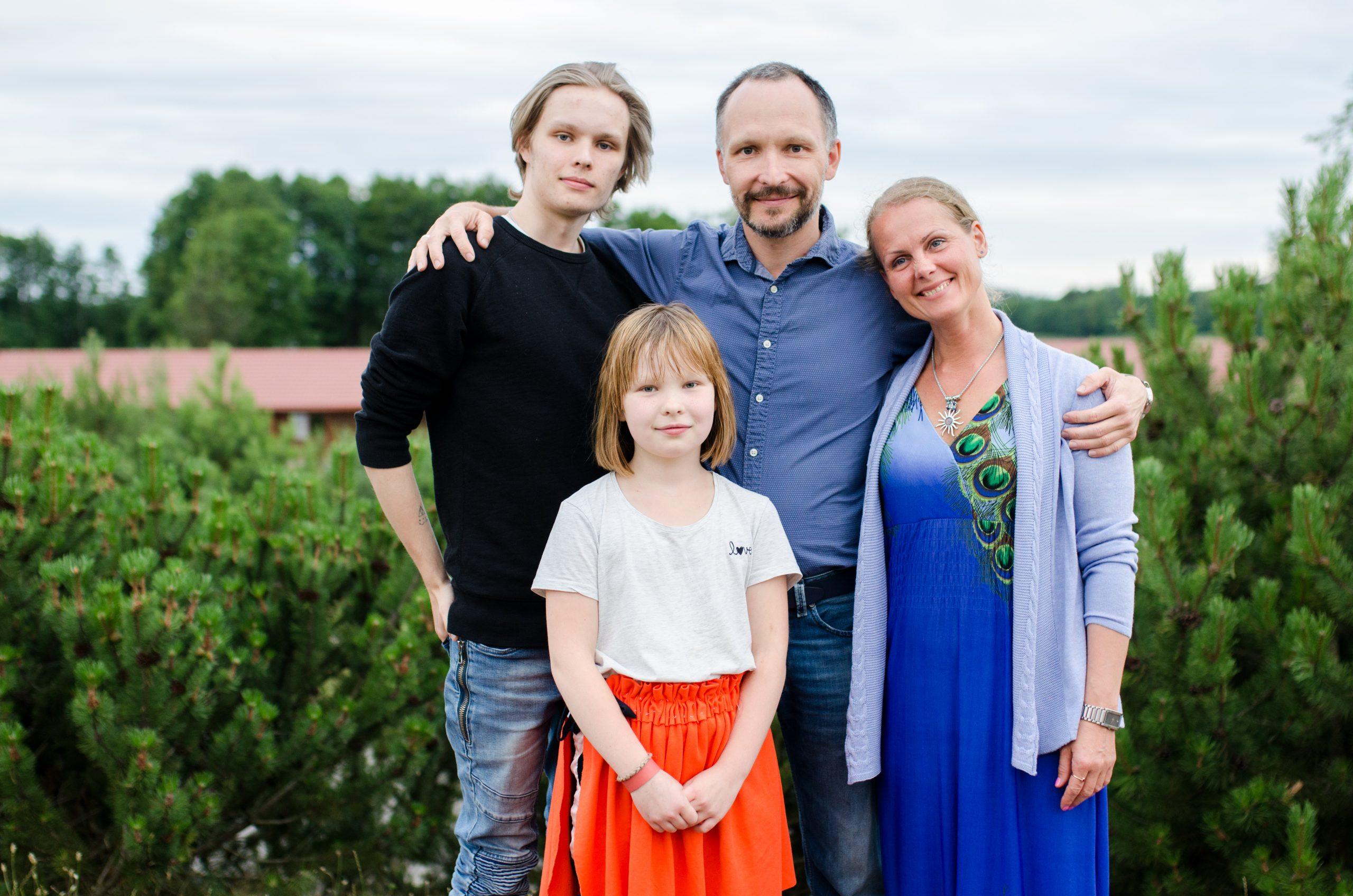 Aurimas Jakutavičius su šeima